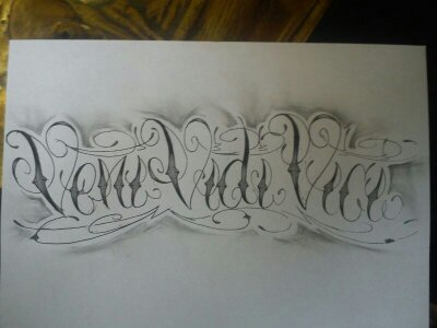 veni vidi vici sketch tattoo by jokerspalace on deviantart. Black Bedroom Furniture Sets. Home Design Ideas