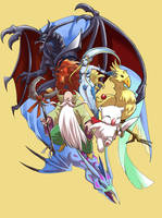 Final Fantasy Summon by glance-reviver