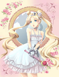 Romantic Sailor Moon by glance-reviver