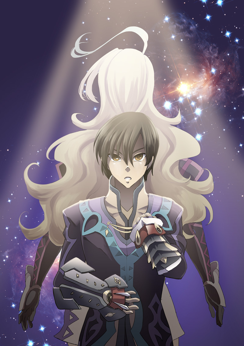 Jude at Milla's Back - Tales of Xillia by glance-reviver