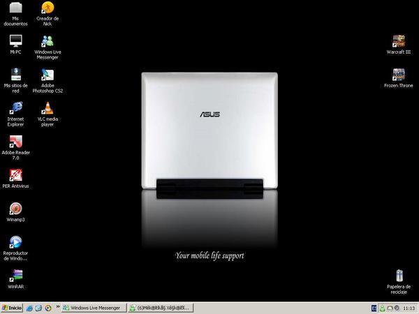 My desktop by Santiex