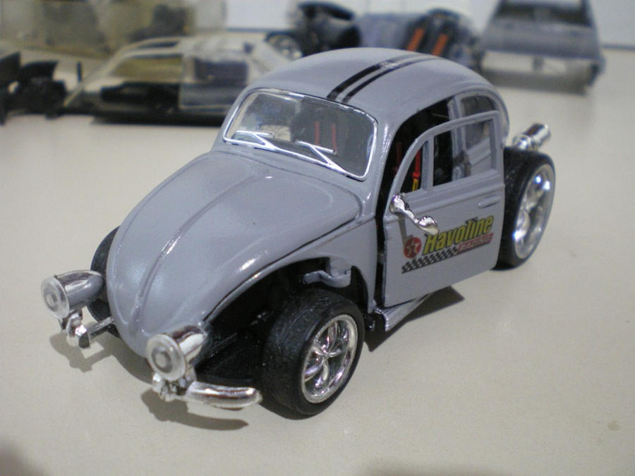 VW Beetle Hot Rod by evandrominiaturas