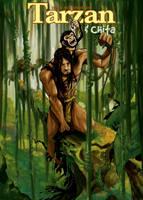 Tarzan and chita by HenryDiaz