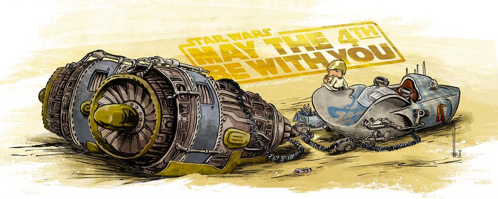 Anakin Podracer by HenryDiaz