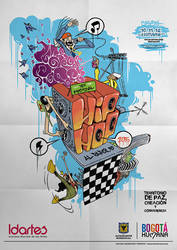 Poster Hip Hop al Parque