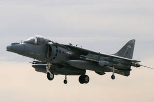 Harrier Departure by Atmosphotography