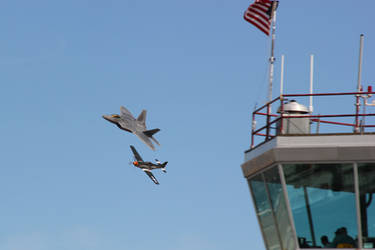 NCAR 12 Heritage Flight by Atmosphotography