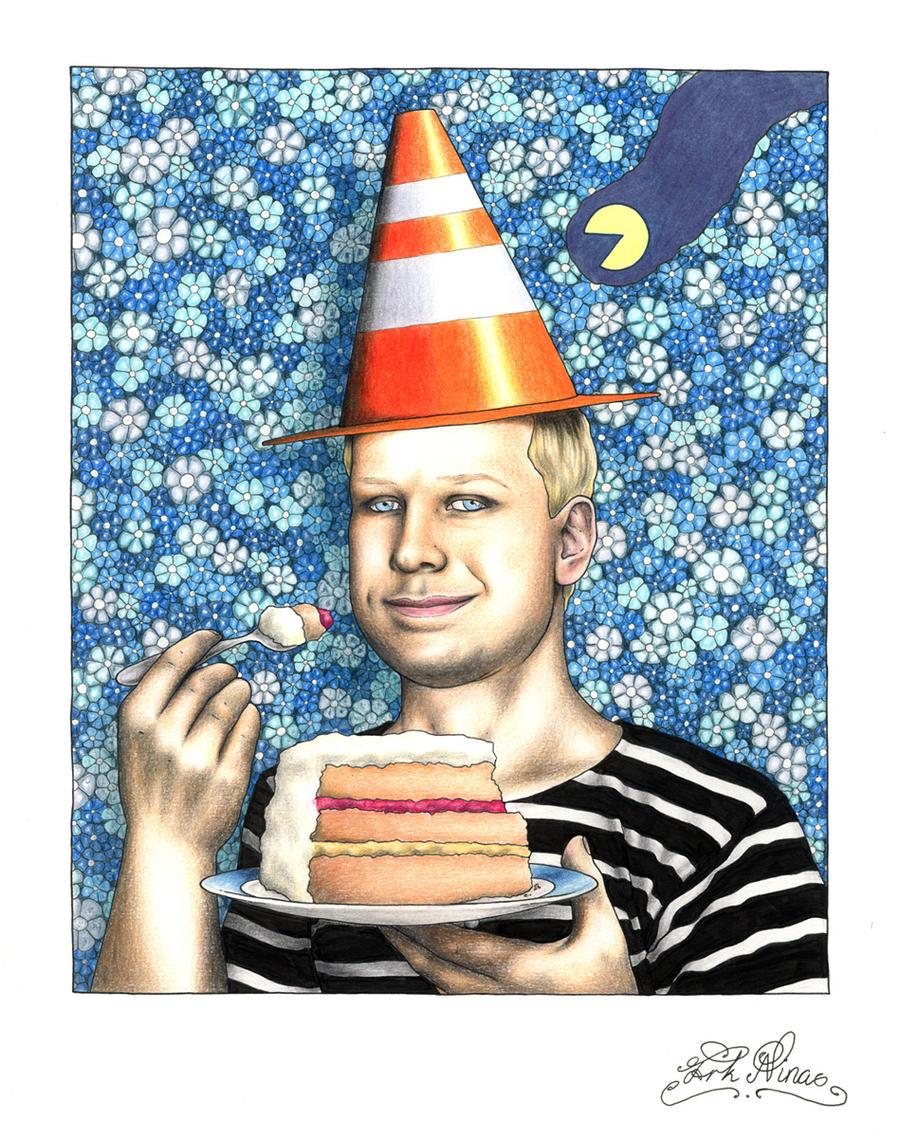 Breivik Party by Frk-Nina