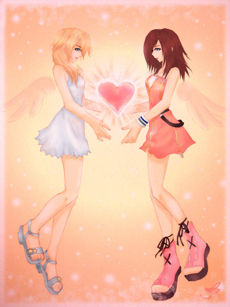KH2 : Two Hearts As One by Yume-Rie