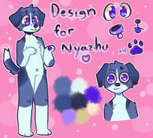 Design trade with Nyazhu by Dog-Biiscuit