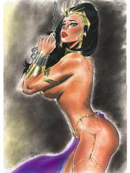 Dejah Thoris Trapped Commission by AdrianaTavares