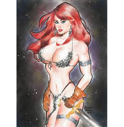 Red Sonja FOR SALE by AdrianaTavares
