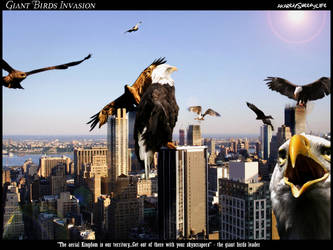 Giant Birds Invasion by SheepyLife