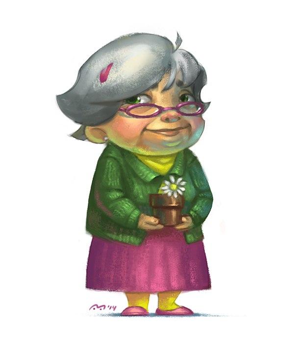 Grandma by nevardaed