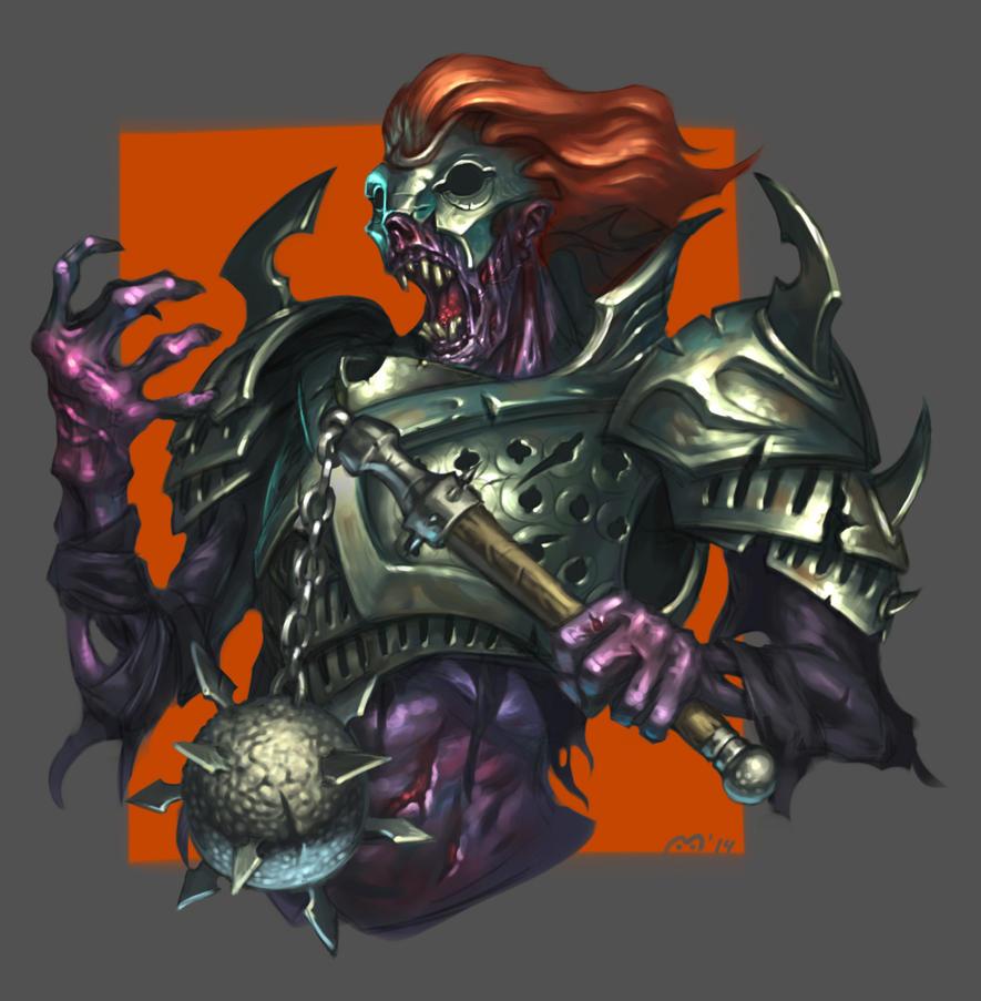 Ghoul by nevardaed