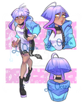 Modern Pastel Witch- ADOPTABLE CLOSED