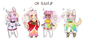 Chibi furries SET PRICE CLOSED(0/4 AVAILABLE)
