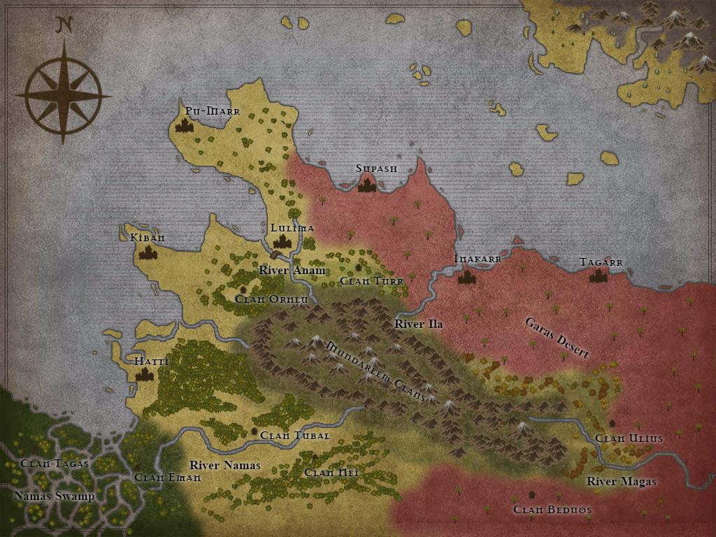 Map of Edarde by jrom95