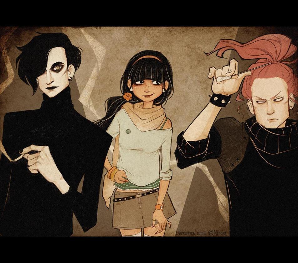 Bizarre, but not a love triangle by Vanessa-Ninona