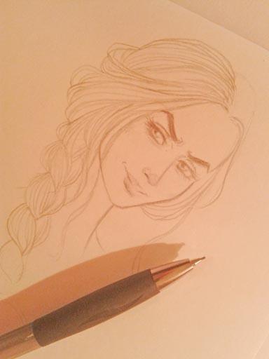 Cersei wip by Oh-Ninona