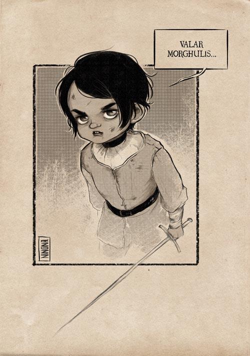 Arya Stark by Oh-Ninona