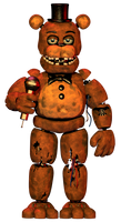 Fnaf 2 Extras: Withered Freddy