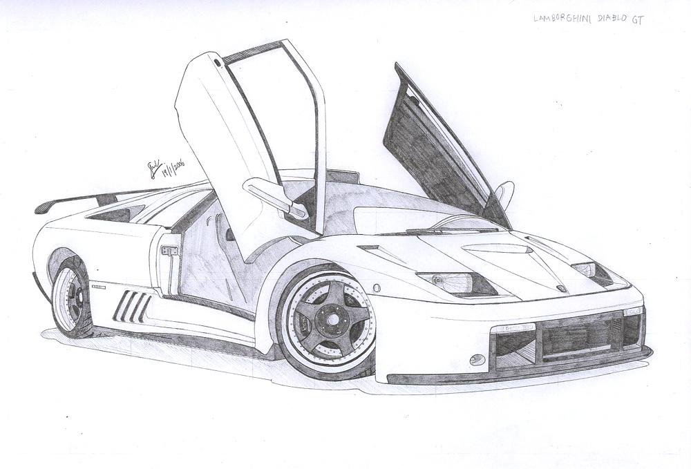 Lamborghini Diablo Gt By Under18carbon On Deviantart