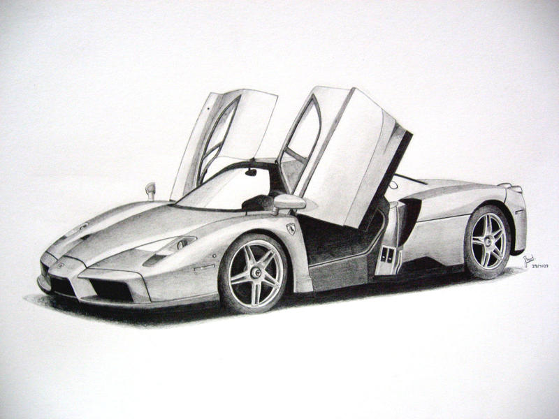 -Ferrari Enzo- by under18carbon