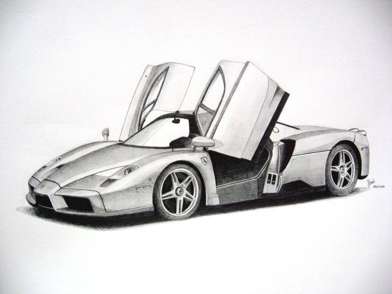 Ferrari Enzo By Under18carbon On Deviantart