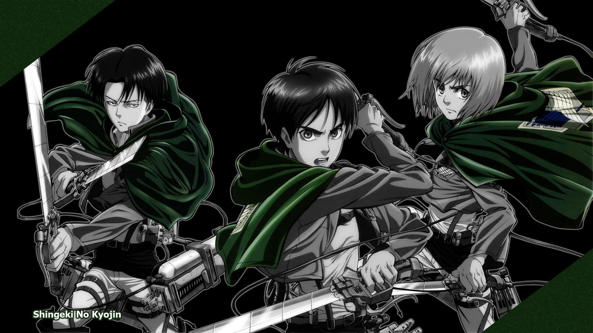 Shingeki no Kyojin (Attack on Titan) Wallpaper by Xeriz on DeviantArt