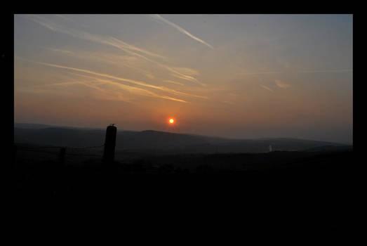 Sunrise Across the Valley