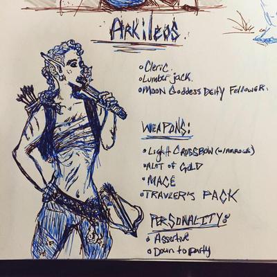 DnD Arkileos Ref by RedRaven600