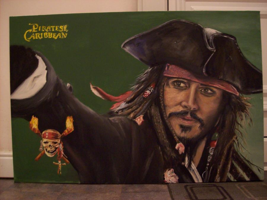 Pirates Caribbean Johnny Depp by Neville23 on DeviantArt