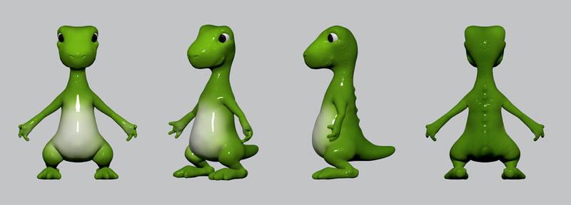 Dino Char strip
