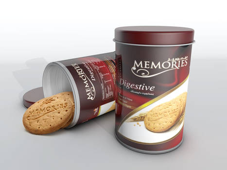 Memories Digestive can 3D
