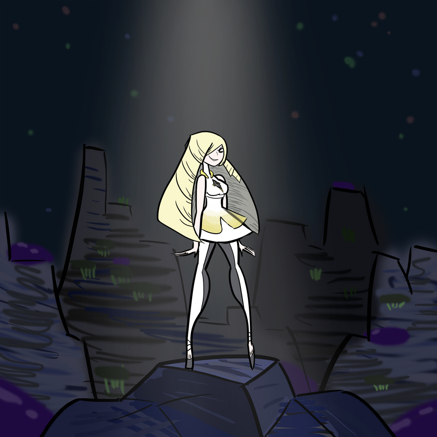 Aether President Lusamine by CoGreen20 on DeviantArt