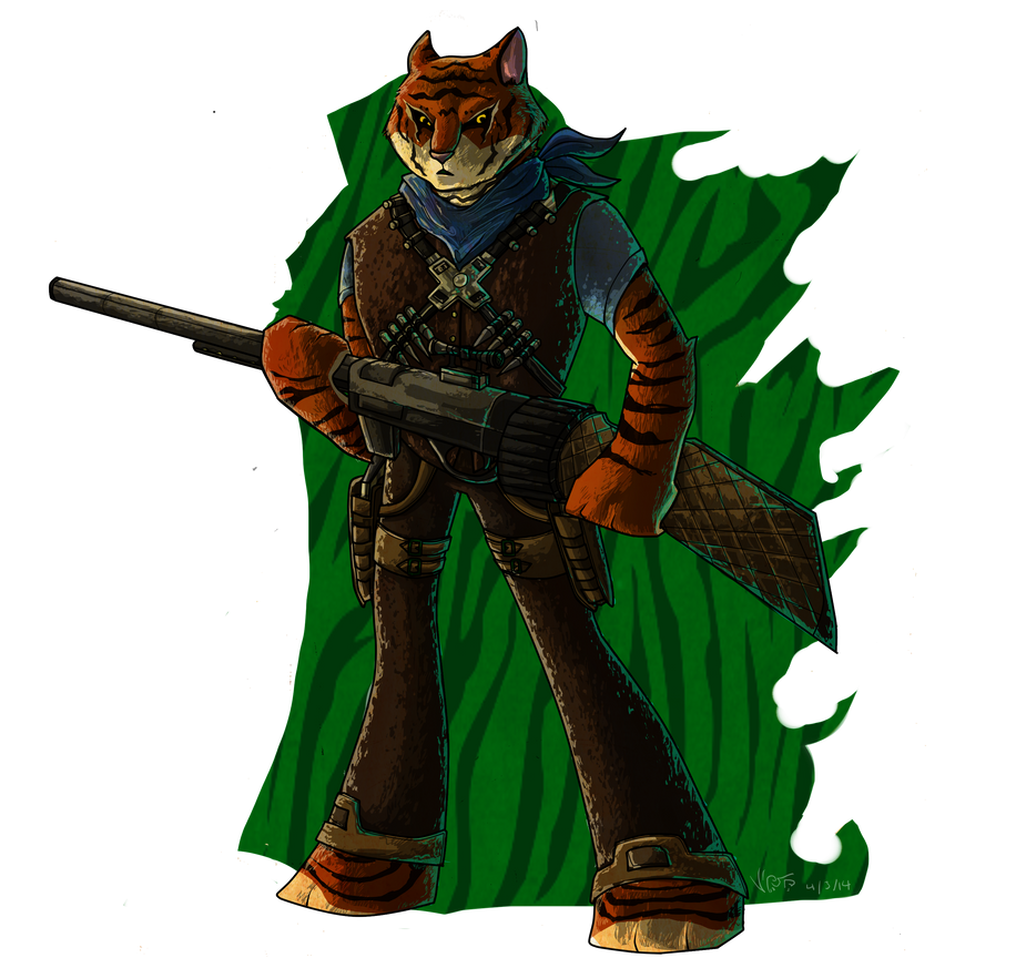 Tiger Claw by lupus-miles