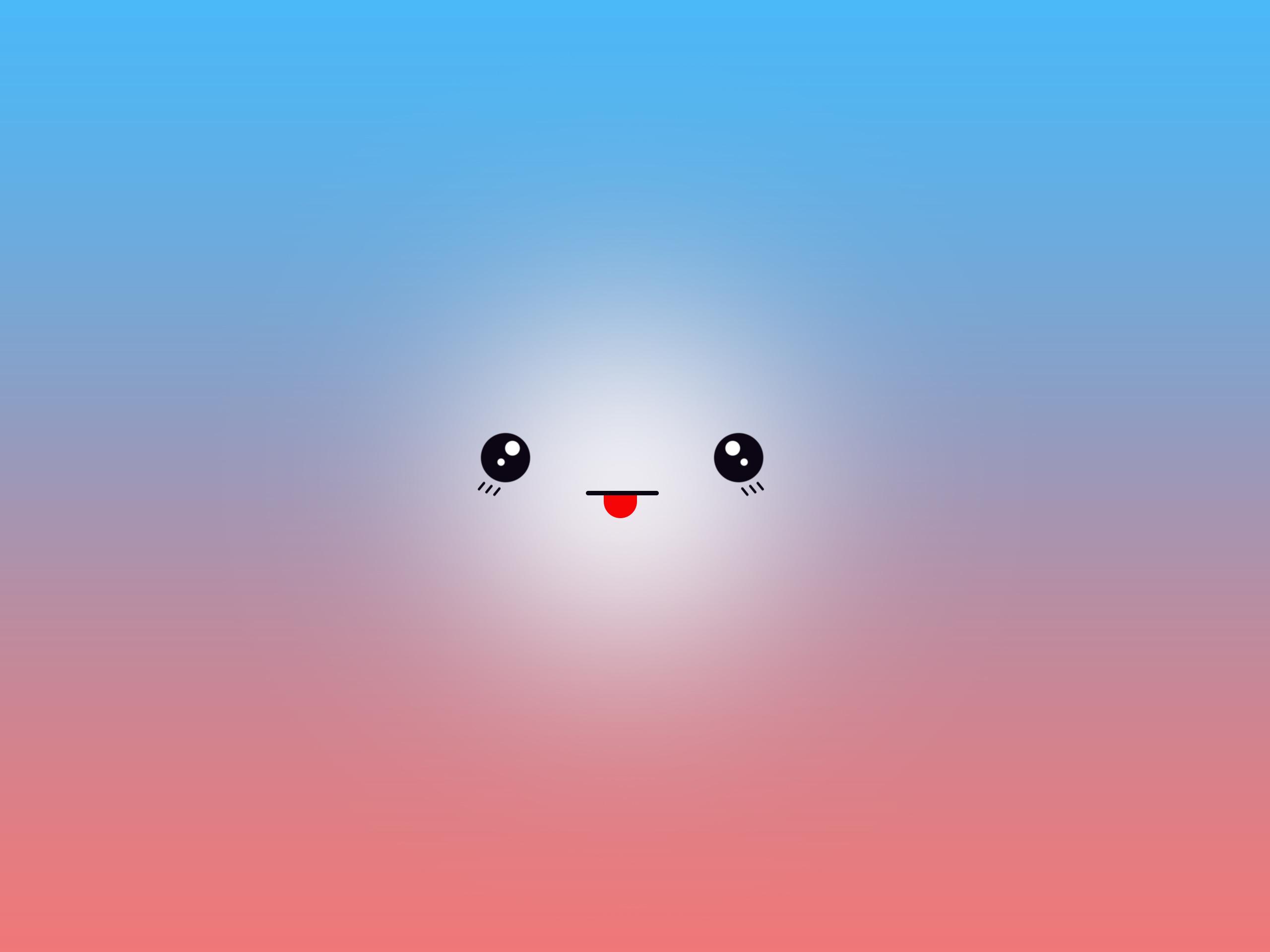 Kawaii Face Wallpaper Iphone By Mobi900