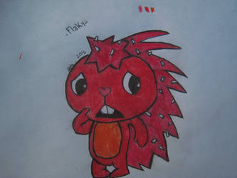 Flaky from HTF by BeyondThisUniverse