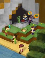 PBGgameplay Minecraft Hardcore by FlywoodPaperPlanes