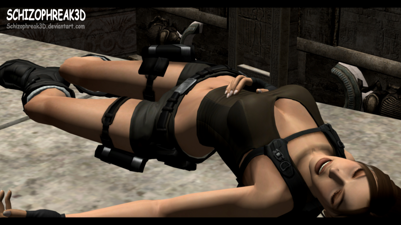 3d monster lara cartoon tube