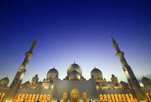 Sheikh Zayed mosque by tarekjajeh