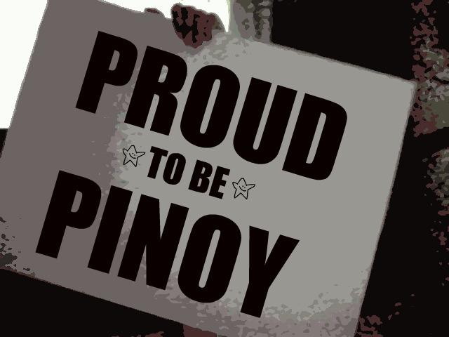 i am proud to be a filipino