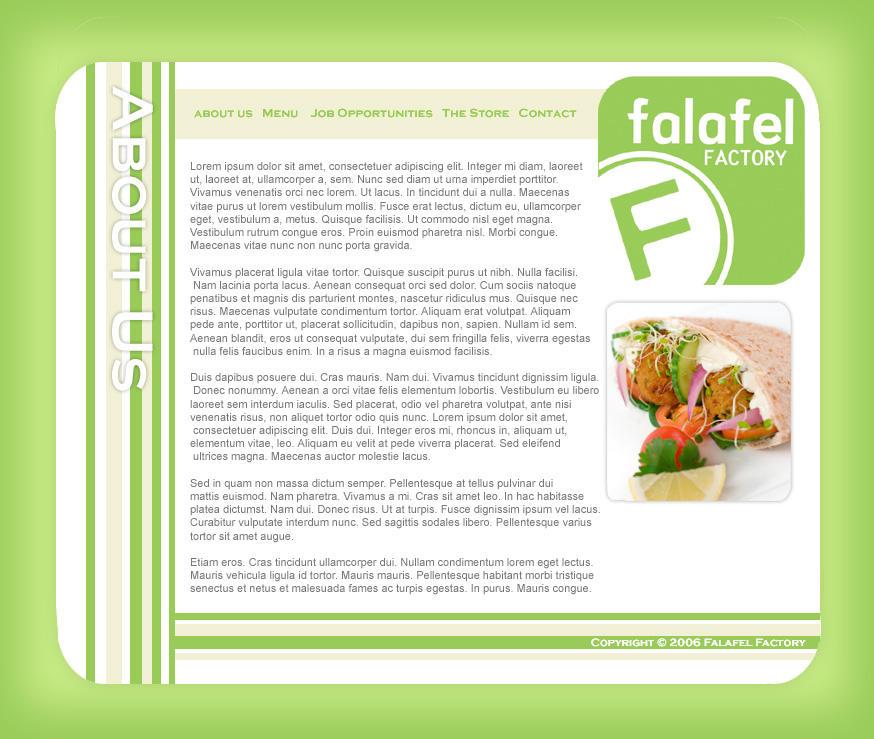 Falafel Factory by bacon111
