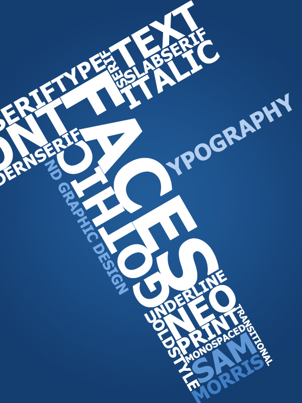 'T'ypography Poster
