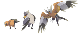 Fakemon: Custrel, Fesprey, Aukite