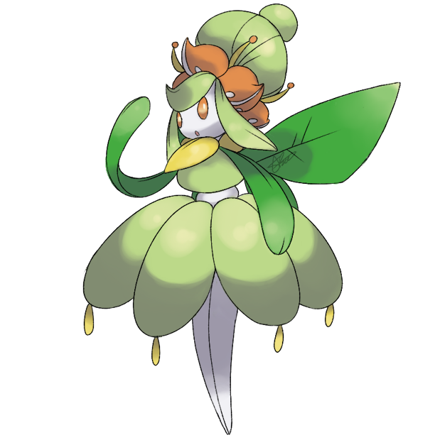 Mega Evolution: Lilligant by AnaMorte on DeviantArt
