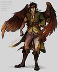 FE - The Hawk King,  Tibarn