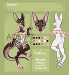 SALE Adopt AUCTION Kangaroo. CLOSED!!! by DragonFoxAdopts