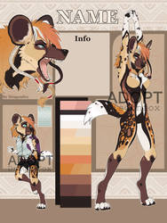 African wild dog. CLOSED!! by DragonFoxAdopts